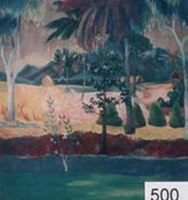 Backdrop 500 Tropical Palm Trees Gaugin Style 12'X15'