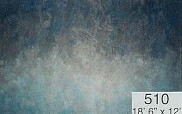 Backdrop 510 Dark Blue Brown Light Blue Graduated 18.5'X12'