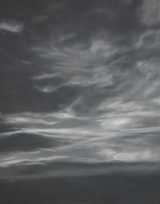 Backdrop 512 Monochrome Cloudy Sky 9'X12'