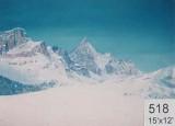 Backdrop 518 Snow Mountains 15'X12'