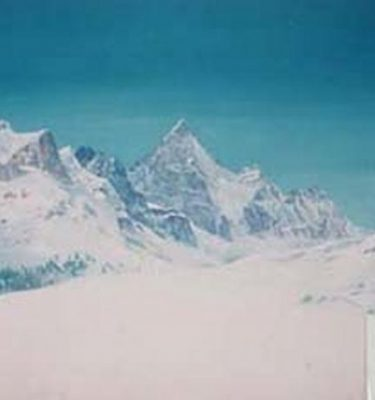 Backdrop 518 Snow Mountains 15'X12'