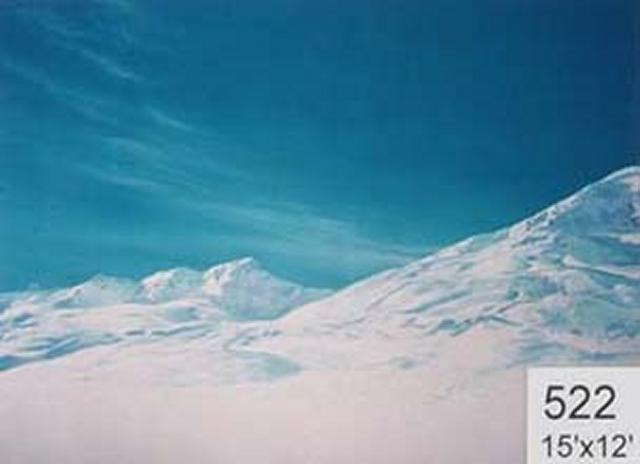 Backdrop 522 Snow Mountains 15'X12'