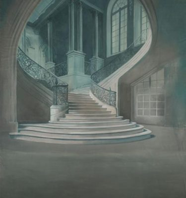 Backdrop 525 Sweeping Stone Staircase 12'X18'