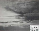 Backdrop 527 Monochrome Cloudy Sky 15'X12'