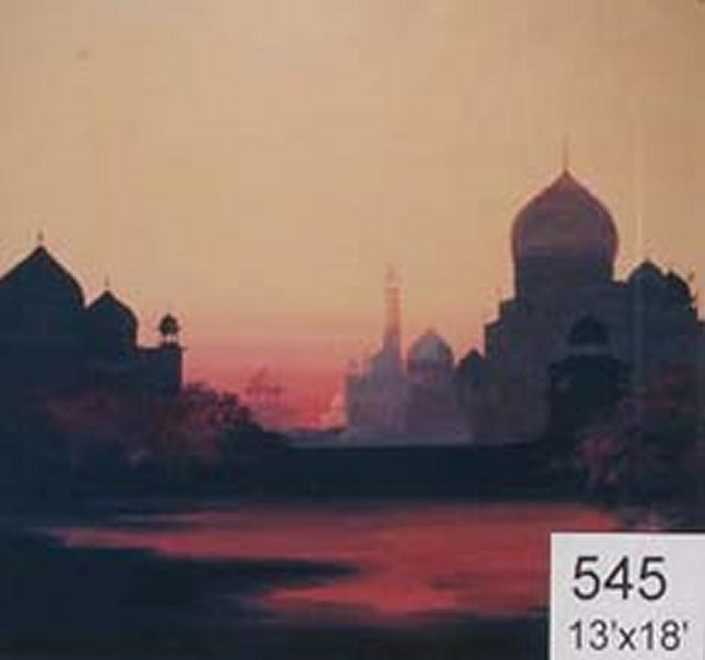 Backdrop 545 Middle East Mosque 13'X18'