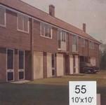 Backdrop 55 Suburban Terraced Houses 10'X10'