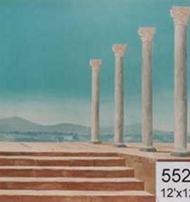 Backdrop 552 Roman Greek Columns 12'X12'
