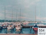 Backdrop 554 Harbour With Boats 15'X12'