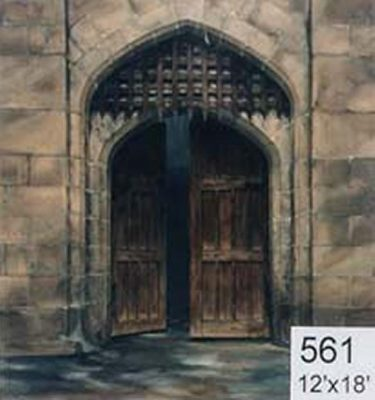 Backdrop 561 Castle Portcullis Gate 12'X18'