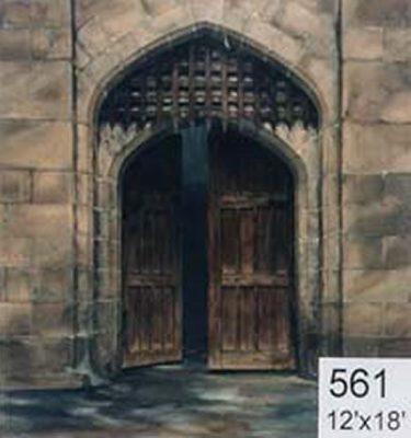 Backdrop 561 Castle Portcullis Gate 12'X18'