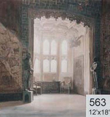 Backdrop 563 Medievel Castle Hall 12'X18'