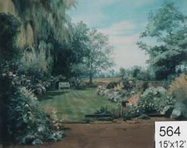 Backdrop 564 Summer Garden 15'X12'