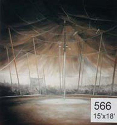 Backdrop 566 Circus Tent Big Top 15'X18'