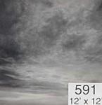 Backdrop 591 Monochrome Grey Sky 12'X12'