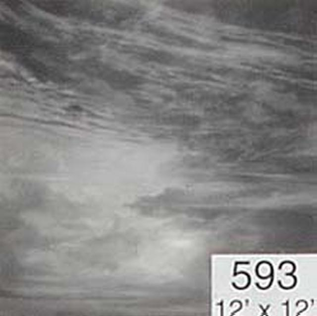 Backdrop 593 Monochrome Sky 12'X12'