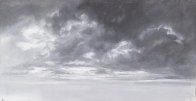 Backdrop 595 Monochrome Grey Sky 12'X6'