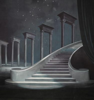 Backdrop 596 Heavenly Staircase 15'X15'