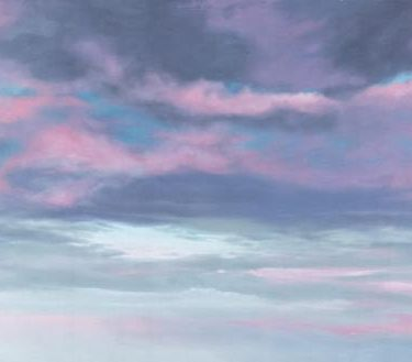 Backdrop 597 Sunrise Sunset Sky Pink Clouds 12'X6'