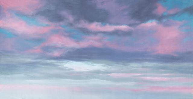 Backdrop 597 Sunrise Sunset Sky Pink Clouds 12'X6'
