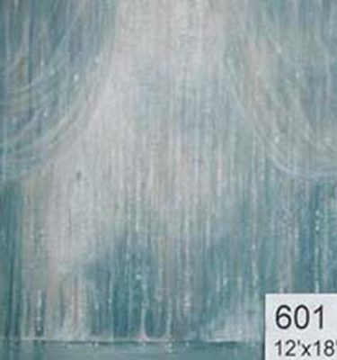 Backdrop 601 Silvery Effect Glitter Curtain 12'X18'