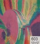 Backdrop 603 Psychadelic Fractal Image 12'X12'