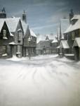 Backdrop 610 Snow Dickens Victorian Street Scene 12'X18'