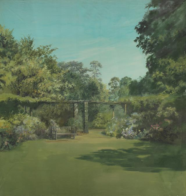 Backdrop 614 Summer Garden 12'X12'