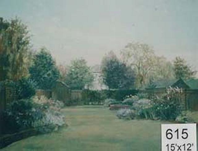 Backdrop 615 Summer Garden 15'X12'