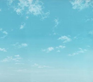 Backdrop 616 Sunny Blue Sky With Wispy Clouds 12'X6'