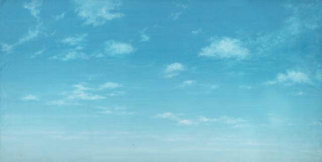 Backdrop 619 Sunny Blue Sky With Wispy Clouds 12'X6'