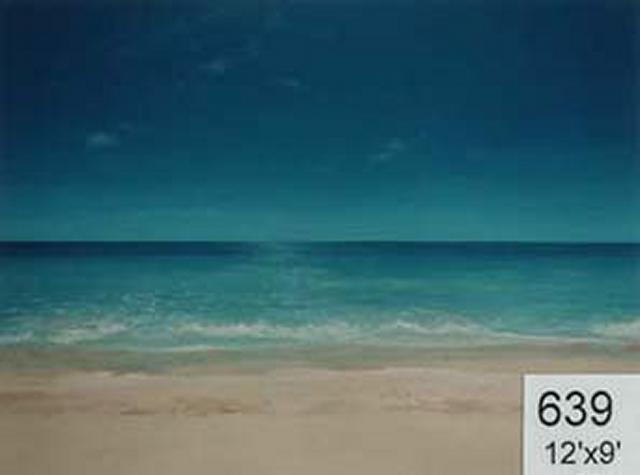 Backdrop 639 Sand, Sea & Sky 12'X9'