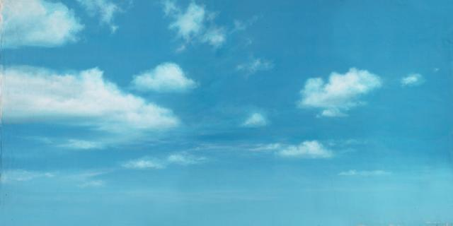 Backdrop 644 Sunny Blue Sky With Clouds 12'X6'