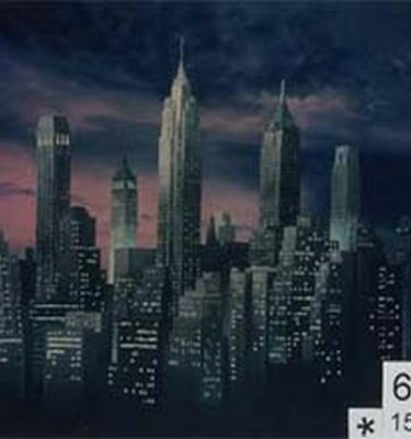 Backdrop 646 Skyscraper Skyline Can Be Backlit 15'X15'