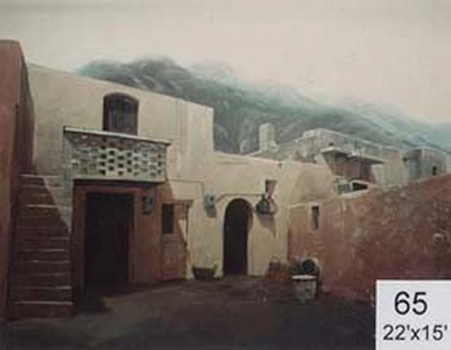 Backdrop 65 Middle East Village 22'X15'
