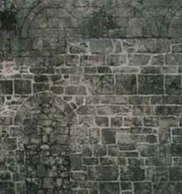 Backdrop 651 Grey Stone Wall Dungeon Cellar 20'X15'