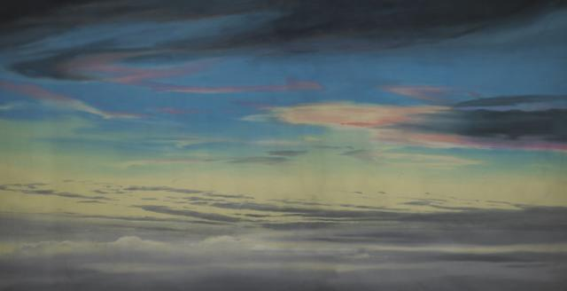 Backdrop 663 Sunrise Sunset Sky Pink Orange Clouds 25'X15'