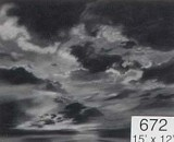 Backdrop 672 Monochrome Dramatic Sky 15'X12'