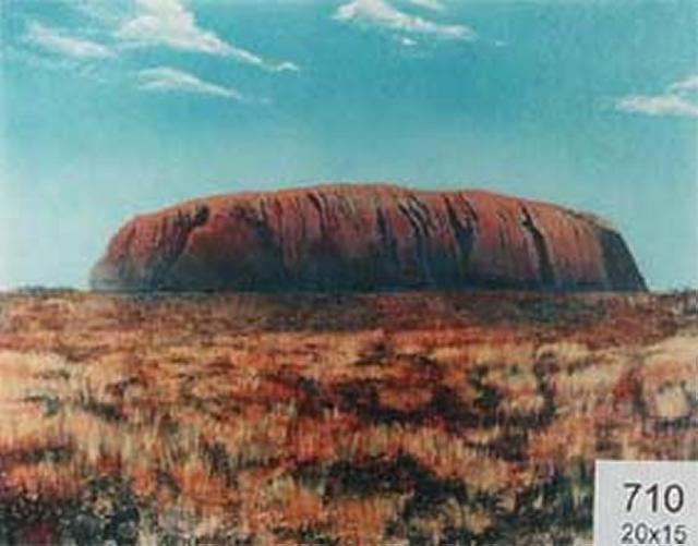 Backdrop 710 Ayers Rock Uluru 20'X15'