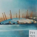 Backdrop 711 Millenium Dome 15'X15'