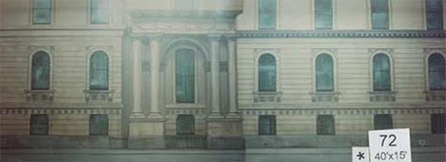 Backdrop 72 Grand Georgian Building 40'X15'