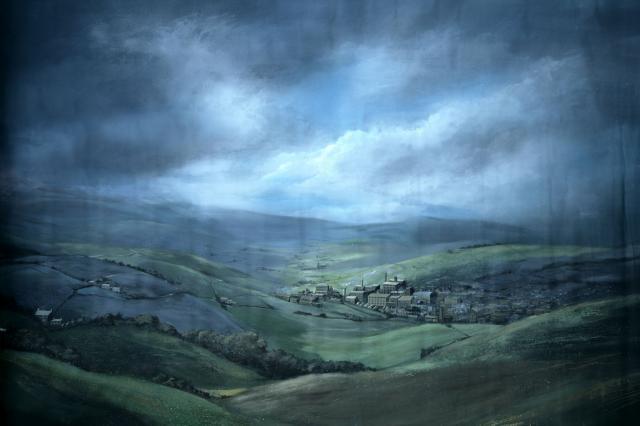 Backdrop 731 Storm Over Cumbria 12'X10'