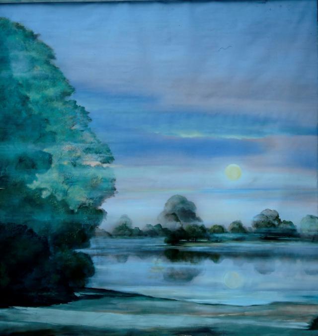 Backdrop 733 Swan Lake Image 11'X10'