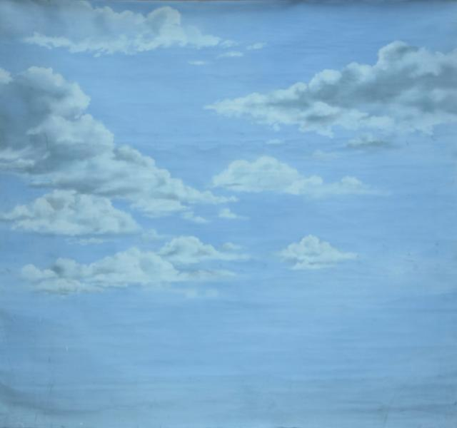 Backdrop 735 Storm Clouds On Lilac Blue 9'X8'