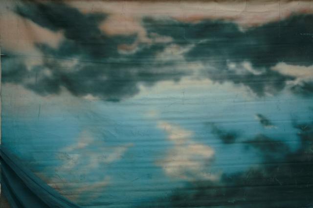 Backdrop 736 Stormy Sunset With Gauze Strip 9'X8'