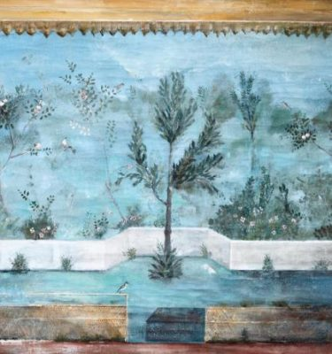 Backdrop 743 Faded Garden Wall Mural 5'X4'