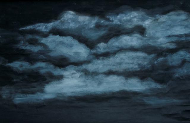Backdrop 751 Black And Grey Sky 11'X8'