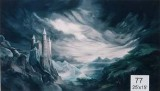 Backdrop 77 Gothic Castle & Dramatic Sky 25'X12'