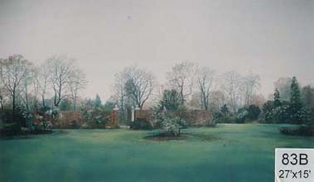 Backdrop 83B Rural Garden 27'X15'