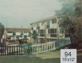 Backdrop 94 Suburban Modern Houses Flats 15'X12'