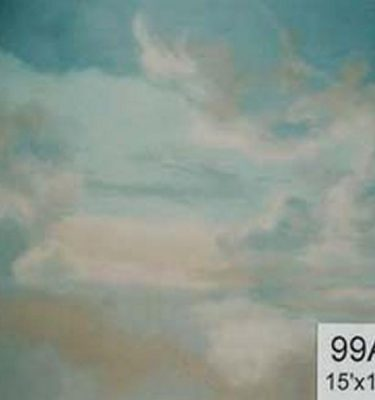 Backdrop 99A Dramatic Sky Creamy Clouds 15'X15'
